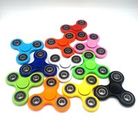 Multicolor hand spinner - 2017 EDC Fidget Spinner toy finger spinner toy Hand tri spinner HandSpinner EDC Toy For Decompression Anxiety Toys