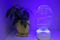 Wholesale 3D lamp Decor LED D light Millennium Falcon Lighting Colorful Gradient Atmosphere Table Lamp Night light Gifts