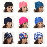 Las muchachas de las mujeres atractivas del precio al por mayor 50pcs cubren el sombrero largo del casquillo de la nadada del pelo del estiramiento que baña el casquillo de natación