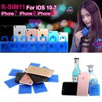Wholesale RSIM11 r sim11 R SIM R SIM11 R UNLOCK card IOS7 IOS8 IOS9 IOS10 R SIM for iphone plus ios7 x CDMA GSM WCDMA SB AU SPRINT G G