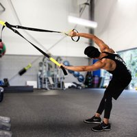band kits - Hot Sports Strength Training Kit Suspension Trainer Kit Outdoor Door Full Body Workouts Equipment