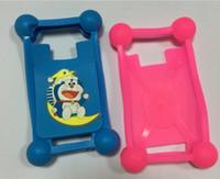 3D Cartoon téléphone cellulaire carte de protection MinionsSoft Silicone Protector 4.0 à 6.0 pouces pour téléphone cellulaire cas