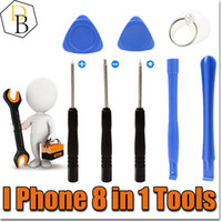 Wholesale IPhone Reparing Tools in Repair Pry Kit Opening Tools Pentalobe For Iphone plus Torx Slotted screwdriver For Samsung moblie phone