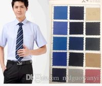 Wholesale TC plain polyester cotton poplin shirt fabric pocket cloth fabric in the clothing