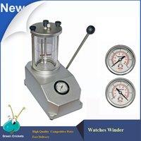 atm cases - Aluminum ATM Watch case water Resistant Test machine watches Capacity Watch Case Waterproof Testing tool for watch repair
