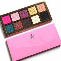 Wholesale Five Star Beauty Killer Eyeshadow Palette Colors Eye Shadow Makeup Cosmetics Highlight VS Kylie BURGUNDY Palette GLOW KIT