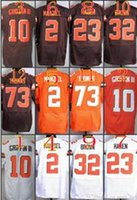 Wholesale 2016 NIK Elite Football Stitched Browns Robert Griffin III Manziel Haden Brown Thomas White orange Jerseys