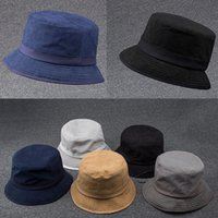 Wholesale HOT Fisherman Cap Hats Designer Fashion Women Men Outdoor Fishing Sun Hat Luxury Street Dance Tourism Stingy Brim Hats WX H76