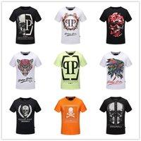 al por mayor hombre de la moda de marca camiseta-Las camisetas alemanas originales de las pp de la marca de fábrica para los hombres forman a cortocircuito la camiseta 100% de los hombres de la camisa del poloshirt del algodón de la manga