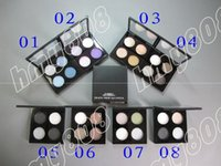Wholesale DHL New Makeup Eyes Transparent Cover Colors Eyeshadow Palette g
