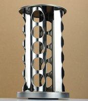 Wholesale 20 Jar Revolving Spice Tower Holder Rack Kitchen Organizer Stainless Steel