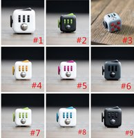 Wholesale Novelty Fidget Cube Toy Stress Relief Focus For Adults and Children Decompression Anxiety Toys CCA5183