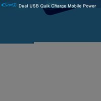 banking technology - YFW Quick Charge Power Bank mAh Dual Ports Portable Charger with QC Technology for Smartphones universal Mobile