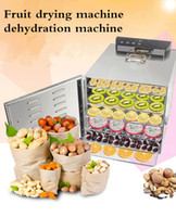 Wholesale Hot sale layers fruit drying machine dehydration machine industrial food dehydrator Stainless Steel Commercial Electric Food Dryer