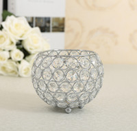 Wholesale candle holders crystal candlestick candle lantern candelabra crystal candle holder home decorative wedding party decoration