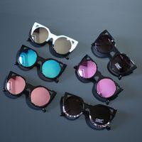 al por mayor gafas coreano-Sólo usted Moda 2017 gafas de sol niños coreanos Niños Niños Beach Supplies UV gafas protectoras gafas de sol sombrillas gafas A117