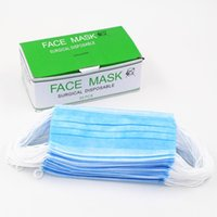 Wholesale Ply Disposable Non woven Medical Face Mask with Earloop Protecting Non woven Disposable Face Mask medical mask