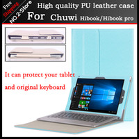 Wholesale Original High quality Business Folio stand keyboard case For CHUWI HiBook Pro HiBook Hi10 Pro inch Tablet PC