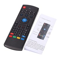 MX3 Air Mouse Multifonction 2.4G Fly Mouse Mini clavier sans fil pour Android Smart TV Box Télécommande infrarouge pour IPTV
