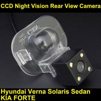 accent verna - CCD HD Car Reverse Camera for Hyundai Accent Verna Solaris Sedan Kia Forte Parking Line RearView Backup Night Vision Waterproof