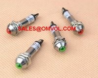 Wholesale mm Pilot Light Indicator indicator light DC12V red green yellow blue white
