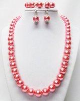 Envío libre ¡Caliente! Encantadora nueva moda hermosa! 10 / 12m m Shell cristalino brillante Shell / pendiente cristalino checo del E-Talón / pendiente de la pulsera (w