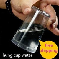 as pic beginner magic tricks - Hydrostatic Glass Hunging water in the cup beginner magic tricks illusion