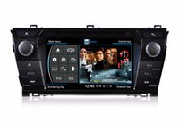 Wholesale Russian Car Radio For Toyota Corolla S100 Wince Operation System Dual Core Zone POP Dics Car DVD Player