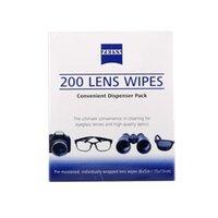 Venta al por mayor- ZEISS Lentes de limpieza paños de limpieza 200 pcs Pre-húmedo portátil LCD lentes de la lente de la cámara óptica de filtro Espectáculo limpiador toallitas de limpieza