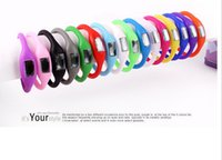 Wholesale Multi color anion pedometer outdoor sports watch hot ideal