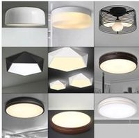Wholesale fancy ceiling lights Contemporary simple chrome satin Nickel led ceiling light balcony lamp corridor lamp The bedroom light
