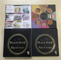 Wholesale Newest TF Eyeshadow Palette THE LITTLE BLACK BOOK OF BRONZERS Wardrobe Blush Cheek Highlighter Christmas Edition DHL ship