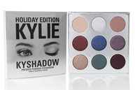 bags gifts - Holiday Edition Kylie Cosmetic Limited Collection Kyshadow Palette matte lipstick makeup bag creme shadow Christmas gift