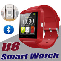 Wholesale Smart Watch Bluetooth U8 Smartwatch Wrist For iPhone Plus S SE S Samsung S7 Edge S6 Note HTC LG Android Smartphones With Retail Box
