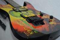 airbrushed guitar - Custom kirk Hammett LTD KH Karloff Mummy Electric Guitar Custom Painted Airbrushed by Eye Kandi EMG Pickups Floyd Rose Tremolo Bridge