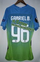 b rugby - 1617 rd jersey europa cup print Gabriel B fan version jersey top quality
