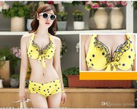 Wholesale Sexy Women Dot Pattern Bikini Set Three Piece Suit Hot Summer Beachwear Swimwear Swimsuit set High Quality
