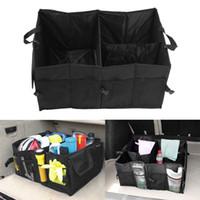 audi toy - Black Folding Car Storage Boxes Travel Trunk Glove Bag Organizer Tools Toys Storage Holder Bin Cubes Bag Car Styling Container