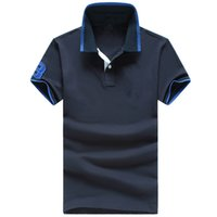 achat en gros de short-polo de fitness-Top Quality New Fashion Short Sleeve Hommes Polos classique Casual Breathable Fitness Polo homme de haute qualité Polo de sport extérieur