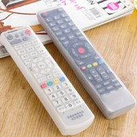 Wholesale 1690 home TV remote control set of remote control cover silicone rubber protective cover against dust and water proof cover
