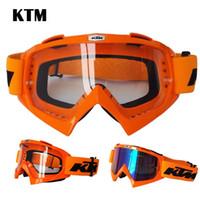 Wholesale KTM Motorbike Racing Goggles Dustproof Cycling Bicycle Bike Motocross Outdoor Goggle Motorcycle Glasses Moto Eyewear
