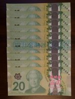 Wholesale 200pcs C Paper Money Canada Bank Notes Commemorate the Collection