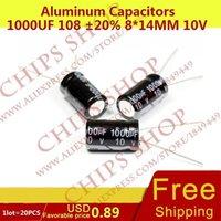 Wholesale Aluminum Capacitors uF mm V nF pF Diameter8mm