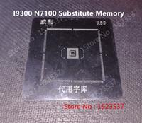 Wholesale A89 motherboard reballing tin plate for SAMSUNG I9300 N7100 A89 KLMAG4FE4B B002 KLMAG2GEAC B002 KLMAG4FEAB B002