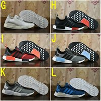 Wholesale 2017 Cheap Hot NMD R1 Primeknit PK Perfect Authentic Running Sneakers Fashion Running Shoes NMD Runner Primeknit Sneakers