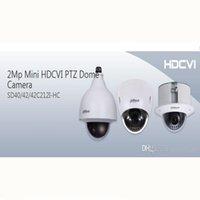 Ptz 12x España-DAHUA IP66 (al aire libre), IK10, OSD 2Mp Mini HDCVI Cámara domo PTZ 1080P HDCVI 12X Cámara PTZ DAHUA SD42212I-HC