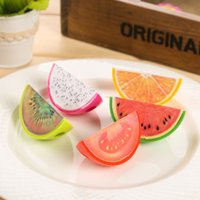 Wholesale Cute Kawaii Novelty Fruit Plastic Pencil Sharpeners For Kids Gifts Learning Materials Office School Supplies Stationery