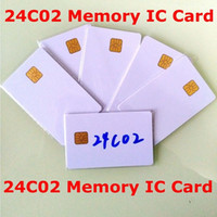 atmel smart card - ATMEL AT24C02 ISO7816 C02 smartcard secure Memory blank connect smart IC card
