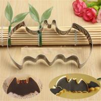 bat cookie cutter - Hot Halloween Fondant Cookies Cutter Mold Bat Man Vampire Cake Decoration Mould