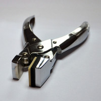 Wholesale Universal Precision Mobile phone film Punch Pliers Stainless Steel hand punch plier with Free Punch Tool